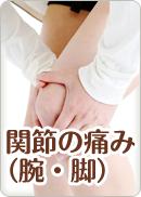関節の痛み(腕・脚)