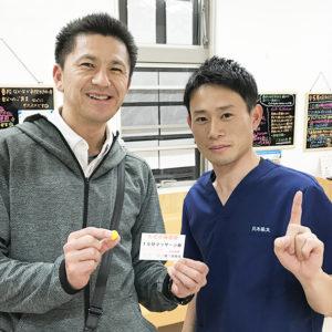 伊勢崎市の43歳男性 交通事故施術の口コミ