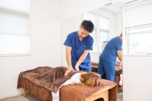 交通事故後の頭痛・めまい・吐き気施術の写真